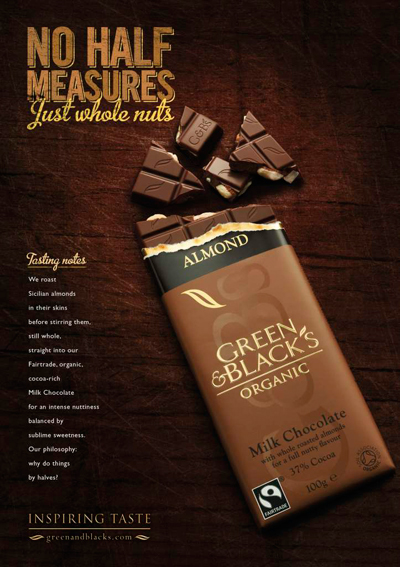 Green & Black's, the organic chocolate brand, is doubling its marketing spend to £1.3m this year in a concerted effort to target