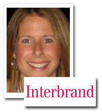 Kimberley Criss, director of brand strategy, Interbrand