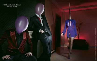 Harvey Nichols 'womenswear' by DDB London