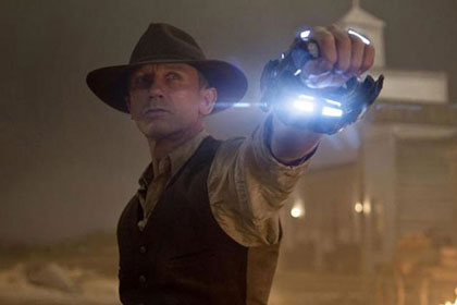 Cowboys and Aliens starring Daniel Craig