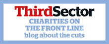 Charities on the Front Line blog promo