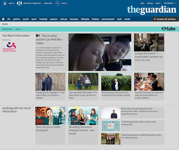 guardian page