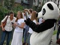 WWF launch of the app