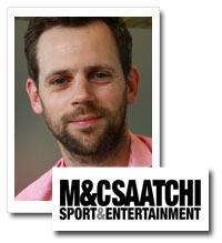 Jamie Wynne-Morgan, managing director, M&amp;C Saatchi Sport and Entertainment