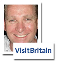 David Leslie, head of comms, Visit Britain