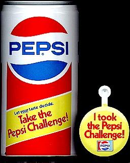 Pepsi: 'The Pepsi Challenge' campaign