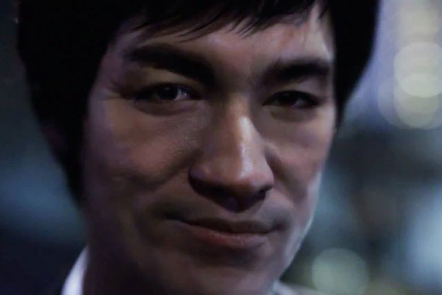 Bruce Lee animated for Johnnie Walker ad