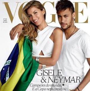 Neymar Vogue cover