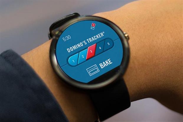 Domino's smartwatch