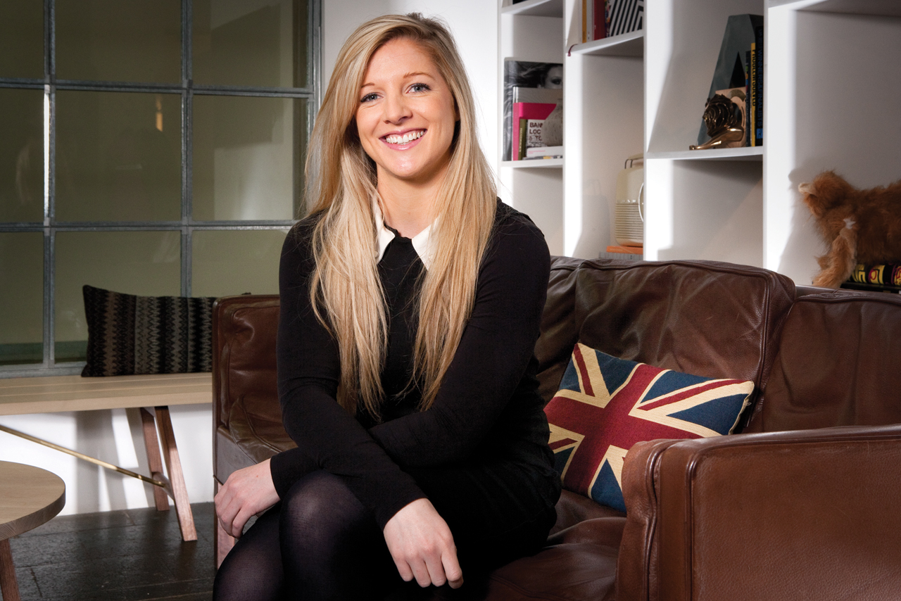 Debs Gerrard 29 associate creative director, Albion London
