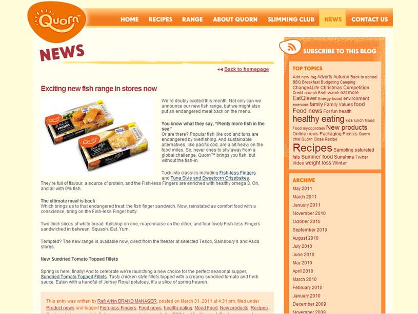 Quorn forced to back down on overfishing claim