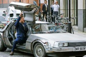 Pepsi Max and Uber offer DeLorean trips