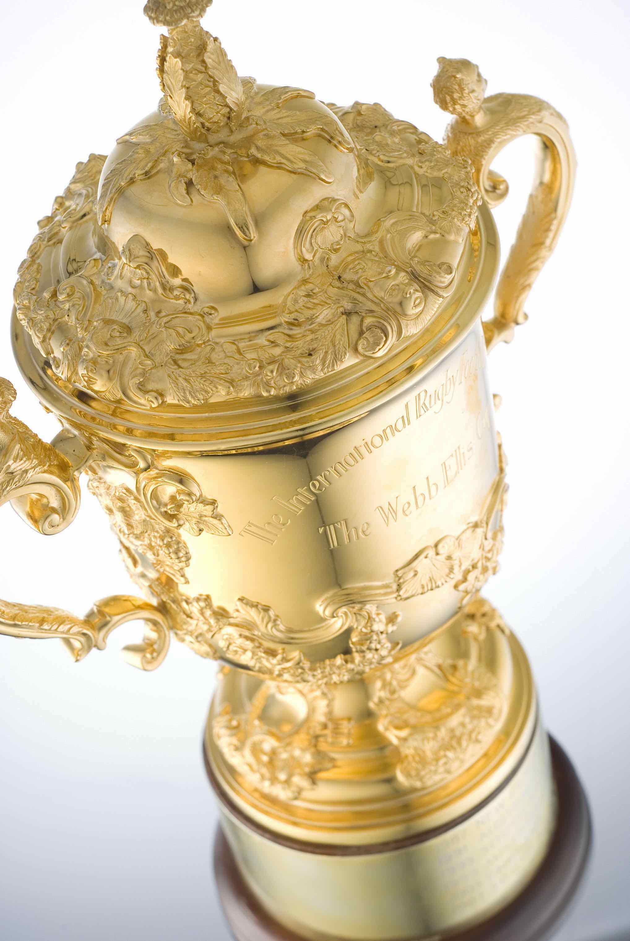 The Web Ellis Cup (credit: World Rugby)