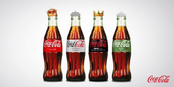 Coca-Cola celebrates the arrival of Princess Charlotte