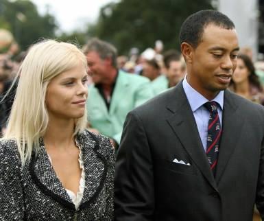 Woods and his now ex-wife, Elin Nordegren