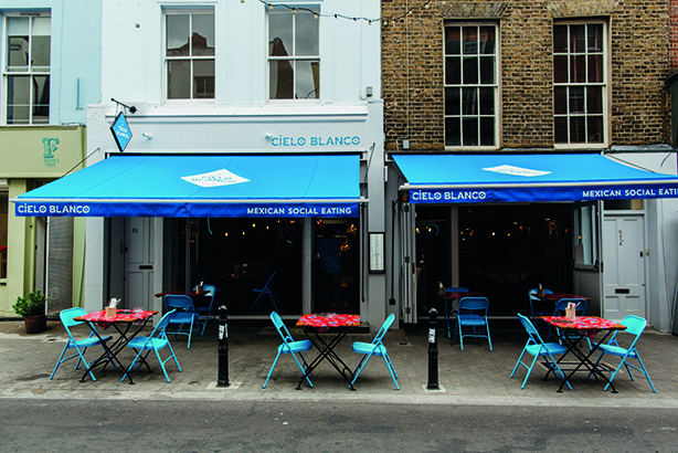 Cielo Blanco, Exmouth Market, London