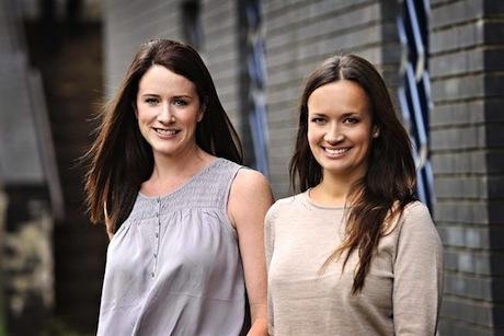 Emma-Jo Jones (left) and Holly Ward