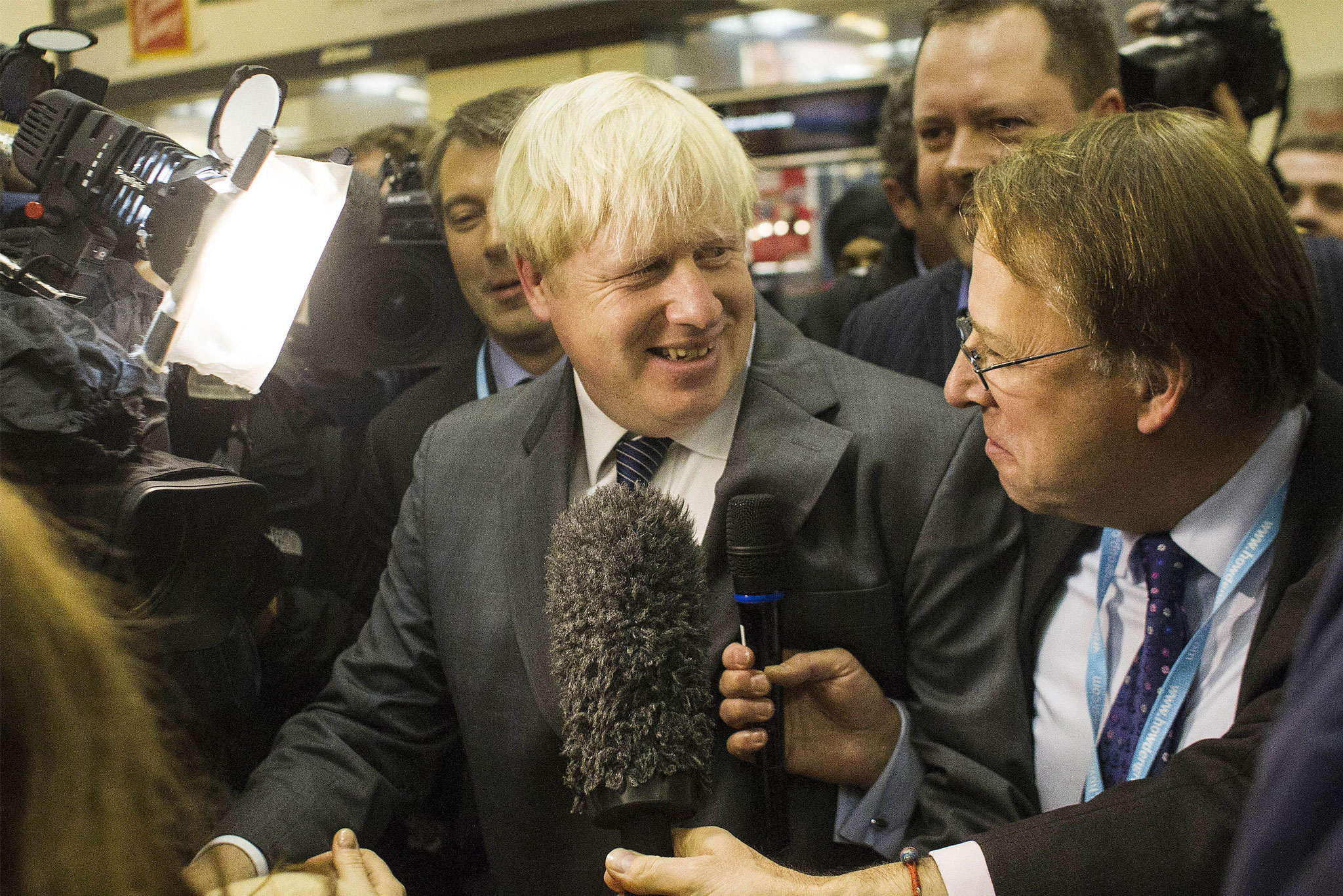 Michael Crick interviews Boris Johnson.