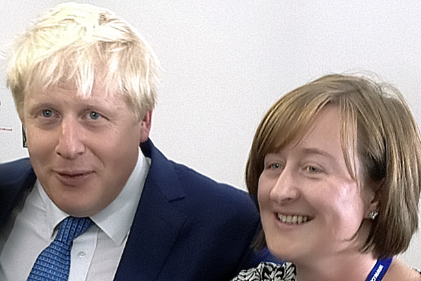 Boris Johnson & Katie Perrior
