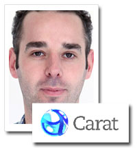 Mike Williamson, head of radio, Carat