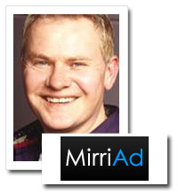 David Charlesworth, head of global sales and sponsorship at digital product placement specialist MirriAd
