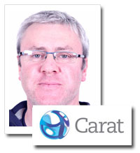 Adrian English, head of media investment, Carat