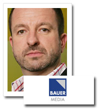 Steve Parkinson, managing director, London radio, Bauer Media