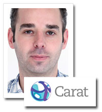 Michael Williamson, head of radio, Carat