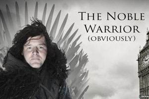 Nick Clegg Game of Thrones poster