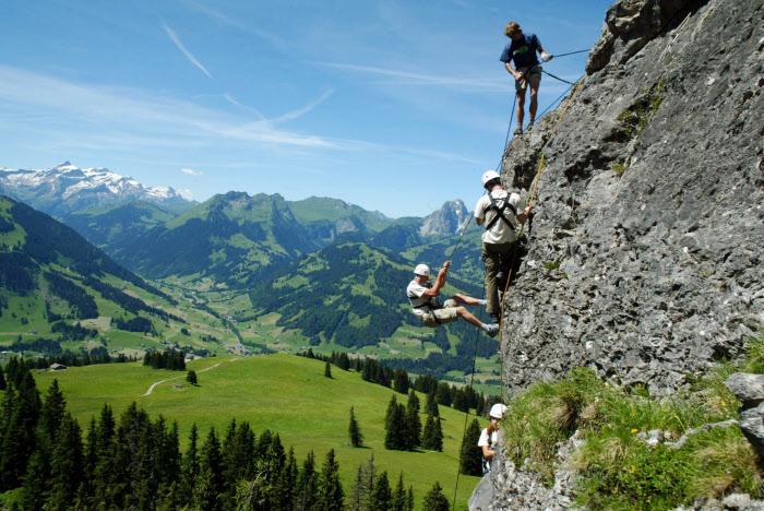 Rock climbing, Switzerland