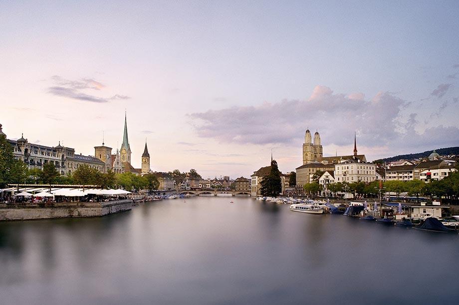Limmat river, Zurich