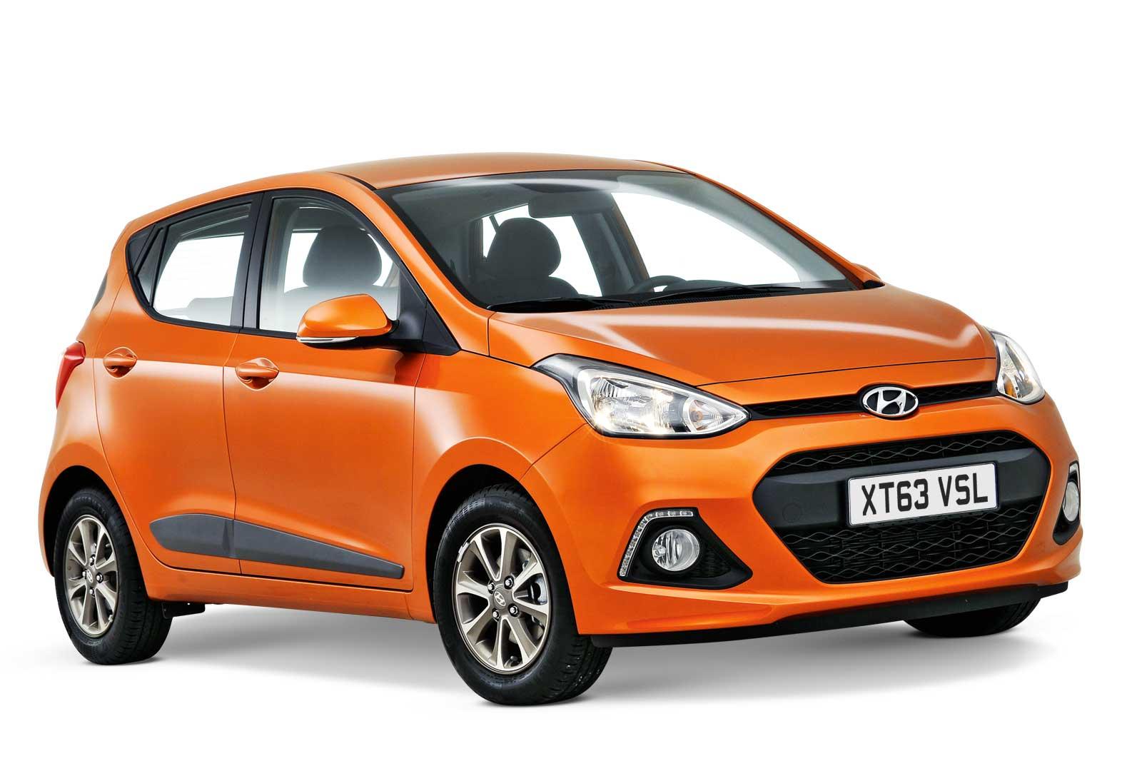 Hyundai i10 winner