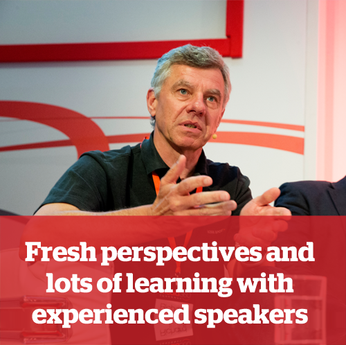 1.	Fresh perspectives and lots of learning with experienced speakers
