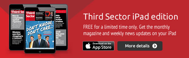 Download the Third Sector iPad edition