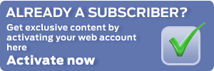 Subscriber web account activation