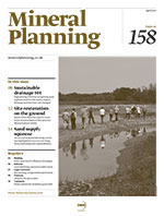 Mineral Planning, February 2015, cover icon