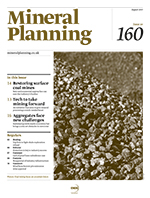 Mineral Planning cover_June 2015