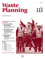 Waste Planning, June 2015, cover icon