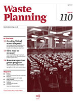 Waste Planning, February 2015, cover icon