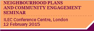 Neighbourhood Plans & Community Engagement