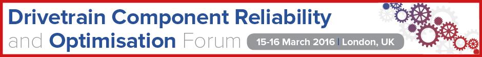 Drivetrain Component Reliability Forum And Optimisation Forum