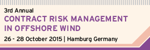 Contract Risk Management In Offshore Wind