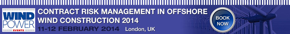 Contract risk management in offshore wind construction 2014