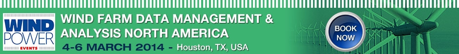 wind farm data management and analysis north america