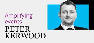 Peter Kerwood: Amplifying Events