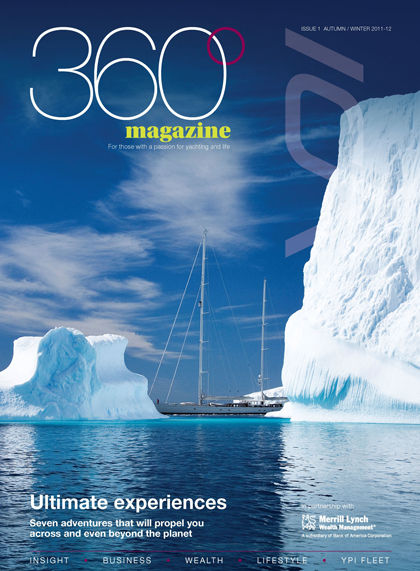 Merrill Lynch targets rich via luxury yacht mag 360 Degrees