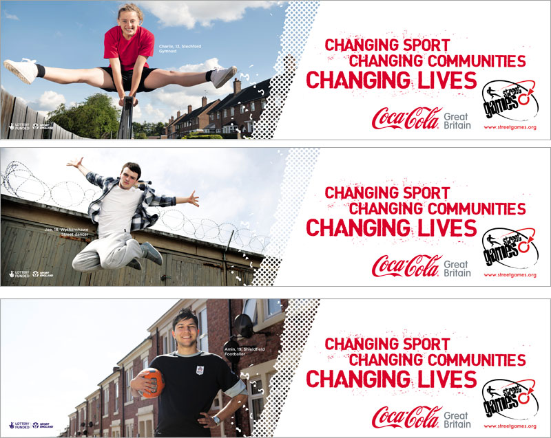 Coca-Cola runs community sports activity for StreetGames