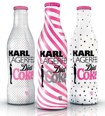 Diet Coke readies limited edition Karl Lagerfeld bottle collection