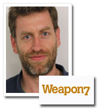 Jeremy Garner, executive creative director, Weapon7