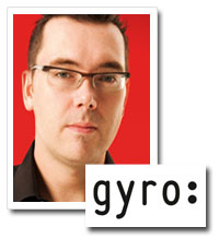 Peter Davis, executive creative director, Gyro